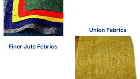 Fine Jute & Union Fabric